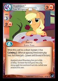 My Little Pony Applejack, Tree Whisperer High Magic CCG Card