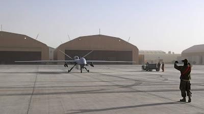 Kandahar Airfield in southern Afghanistan