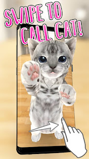 3D Cute Cat Live Wallpaper Apk - Free Download Android App