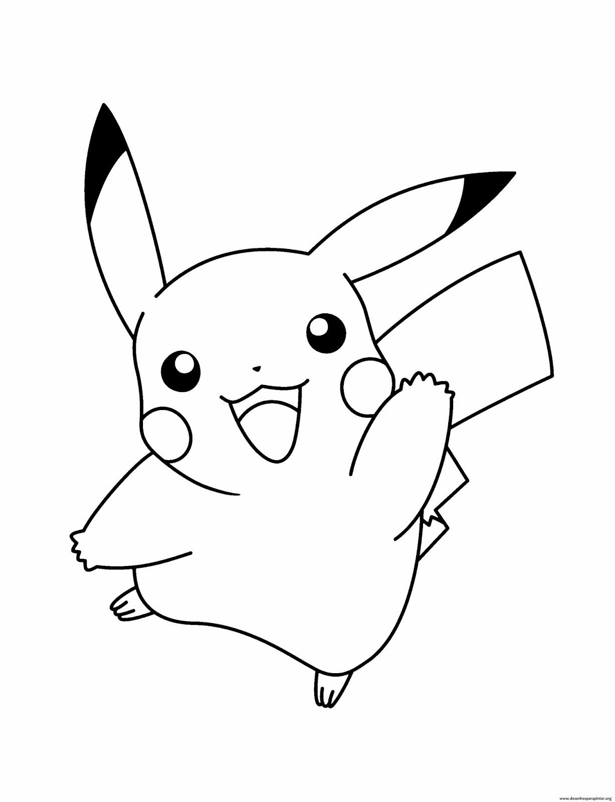 Desenhos Para Colorir E Imprimir Do Pokemon