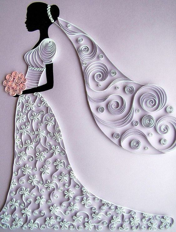 Paper quilling creative ideas art craft projects for Paper art projects