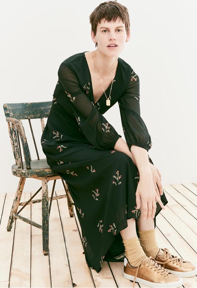 Saskia de Brauw for Madewell Tomboy Looks Fall 2017