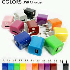 batok charger warna warni