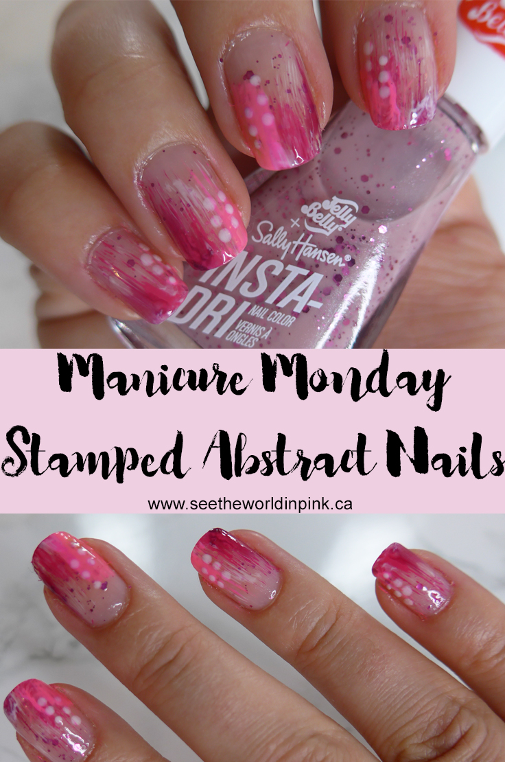 Manicure Monday - Summer Abstract Nails