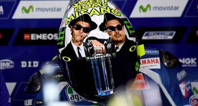 10 Helm Terbaik Valentino Rossi Versi MasPonBalap, Sampeyan Pilih Yang Mana ??