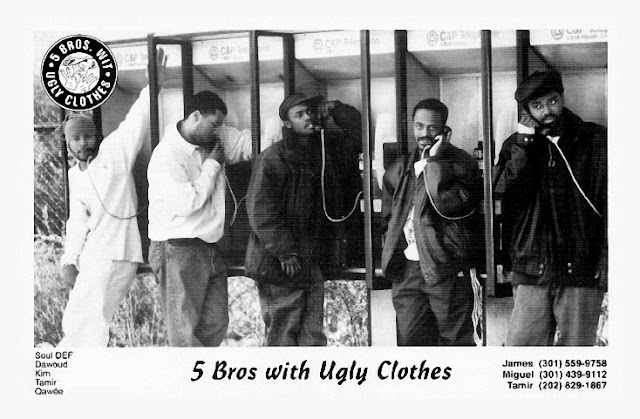 5 Bros wit Ugly Clothes Publicity Photo