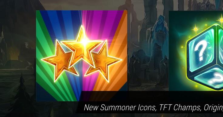 Surrender at 20: 7/31 PBE Update: New Summoner Icons, TFT