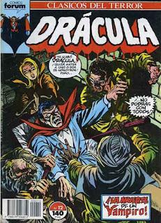Clásicos del Terror Drácula 12 / Gil Kane