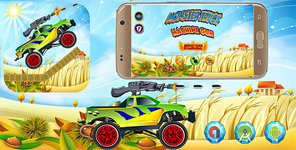Download Monster Truck Machine Gun