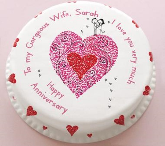 wedding anniversary cake quotes