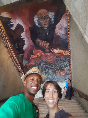 My first exposure to the fantastic art of Jose Clemente Orozco