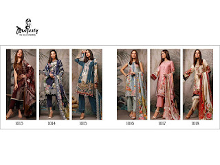 Majesty Firdous 2 The luxury Lawn pakistani Suits