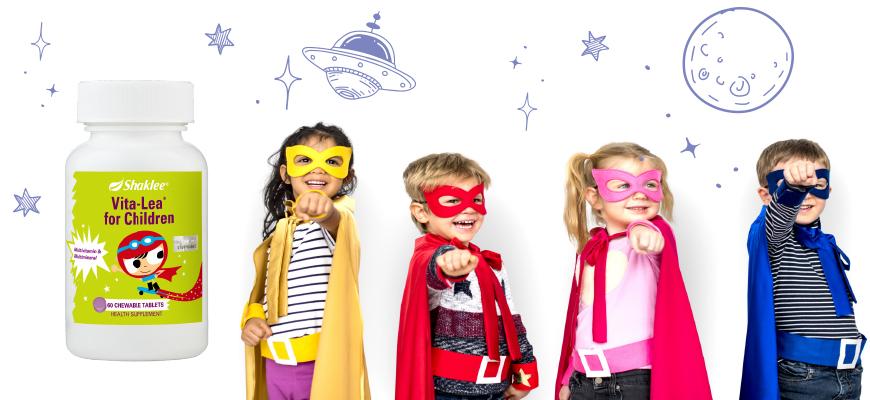 Vita-Lea® for Children - Multivitamin Kanak-kanak