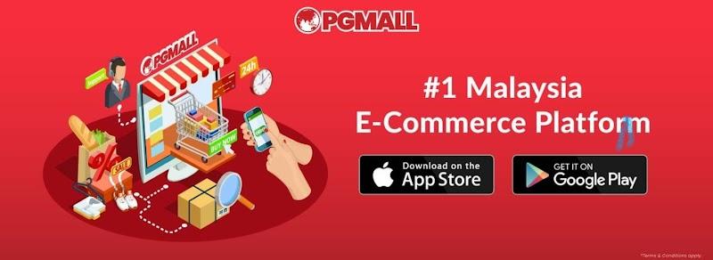 PG Mall Malaysia No. 1 platform ecommerce anjur pelbagai promosi hebat. Bestnya PG Mall !
