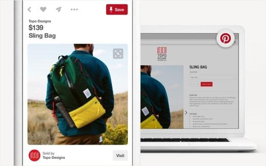 Buyable Pins Pinterest