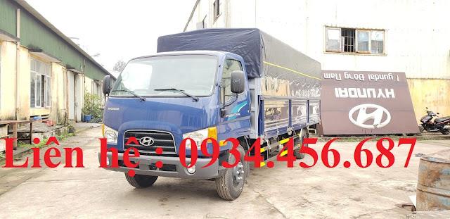 Xe tải Hyundai 110sl thùng dài 5m7