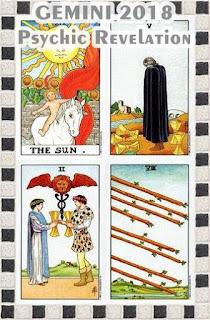 GEMINI 2018 Psychic Revelation TAROT cards