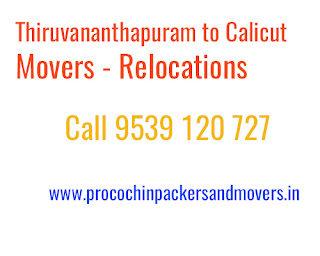 Trivandrum to Kozhikode movers