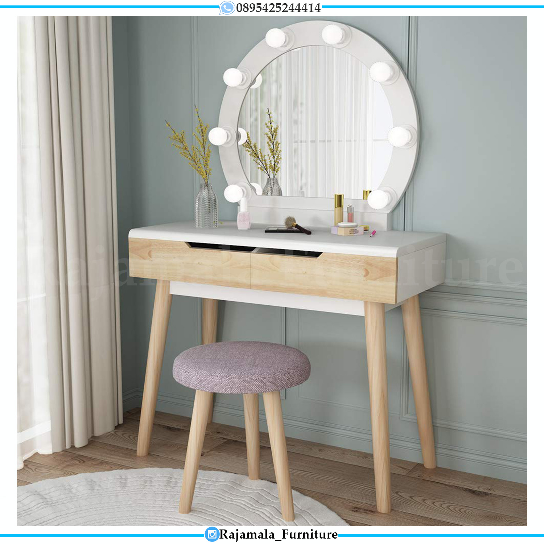 Desain Meja Rias Minimalis Modern Furniture Jepara Terbaru RM-0166