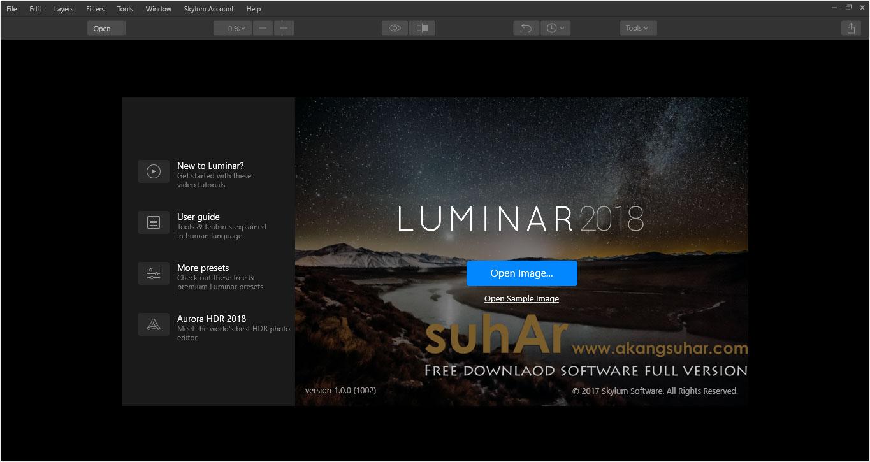 Free Download Luminar 2018 Full Activation Key, Luminar 2018 Final Full Serial Number