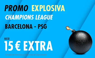 suertia promo Barcelona vs PSG 16-2-2021