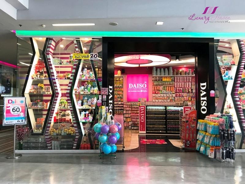 siam square one bangkok daiso shopping