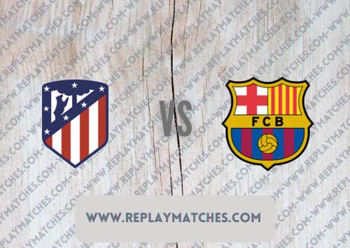 Atletico Madrid vs Barcelona -Highlights 02 October 2021