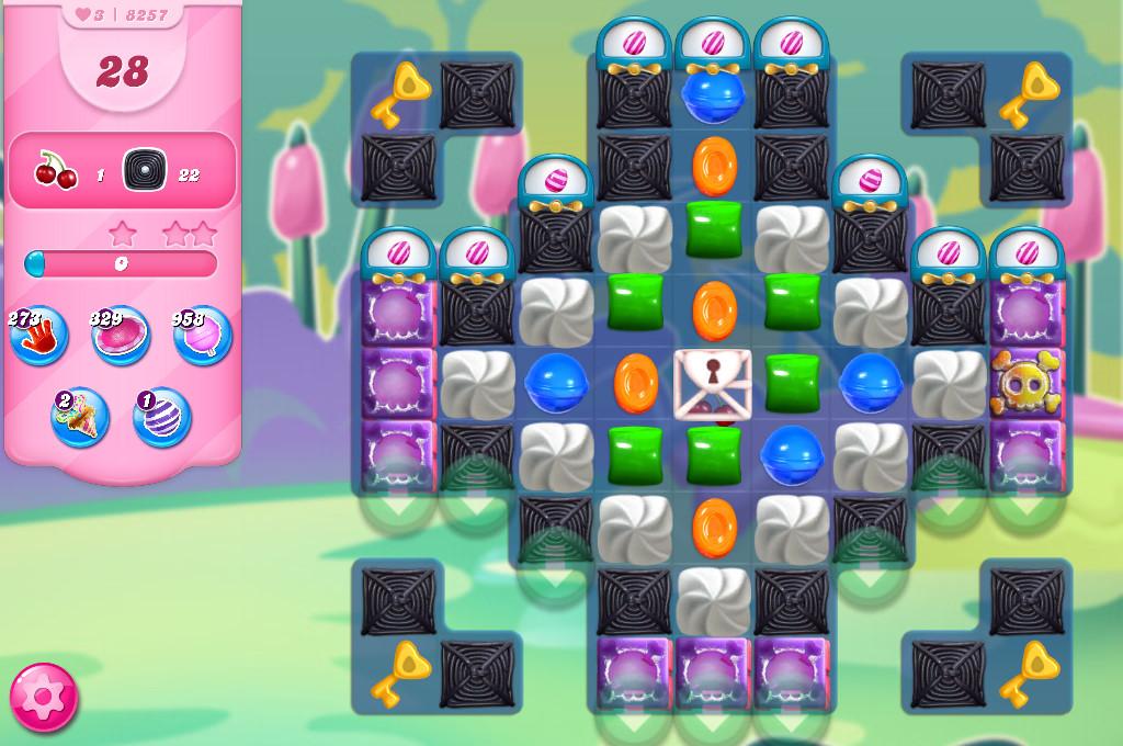 Candy Crush Saga level 8257