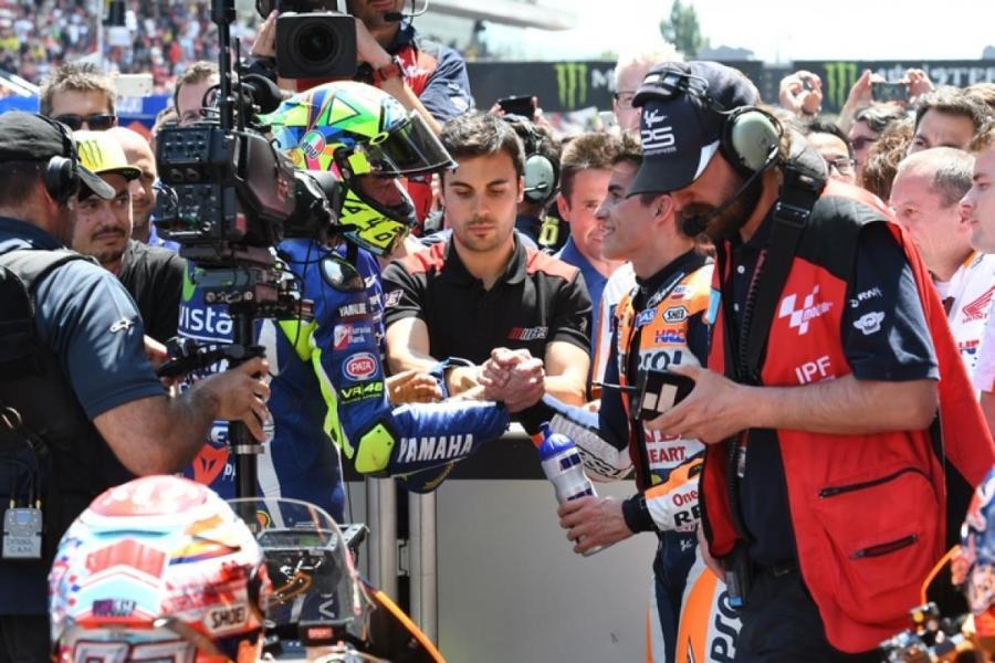 MotoGP 2016 Barcelona-Catalunya Spain Rossi Race Podium