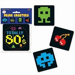 Totally 80's Drink Coasters