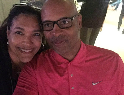 Clark Kellogg with his wife Rosy