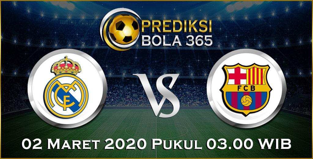 Prediksi Skor Bola Real Madrid vs Barcelona 02 Maret 2020