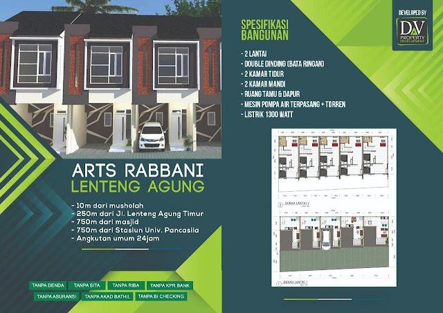 Rumah Syariah Jakarta Rabbani Art Lenteng Agung