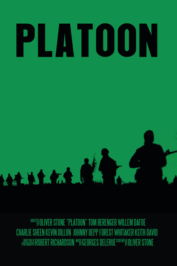 Film Studies - Platoon, Literature / Movie review