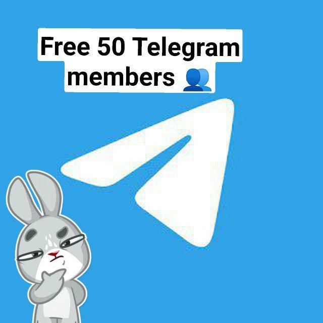 Free 50 telegram members