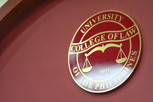 Image: University of the Philippines College of Law Seal