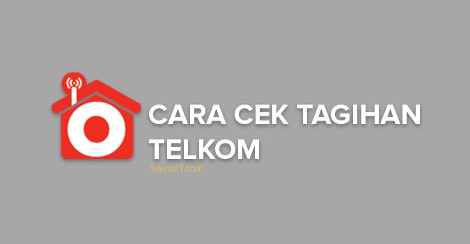 Cara cek tagihan Telkom