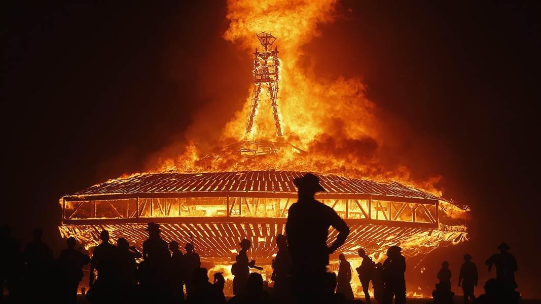 Burning Man, Black Rock Desert, Nevada World's Top 5 Cultural Festivals