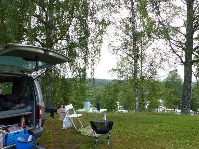 Tiveden Nationalpark Wandern Urlaub Camping mit Hund Schweden