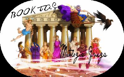 Resultado de imaxes para Book Tag mitología griega