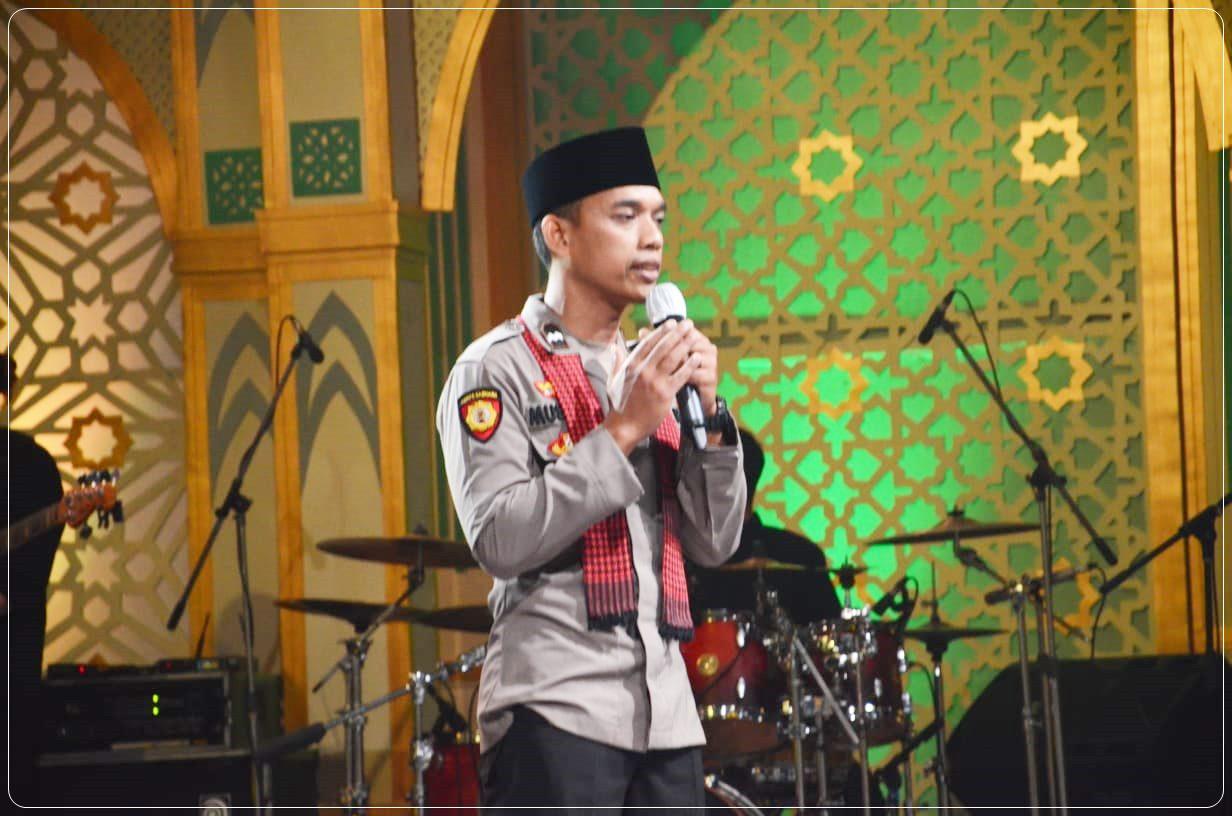 Musakir, Anggota Polantas Polres Kebumen Juara Lomba Dai Polisi Nasional