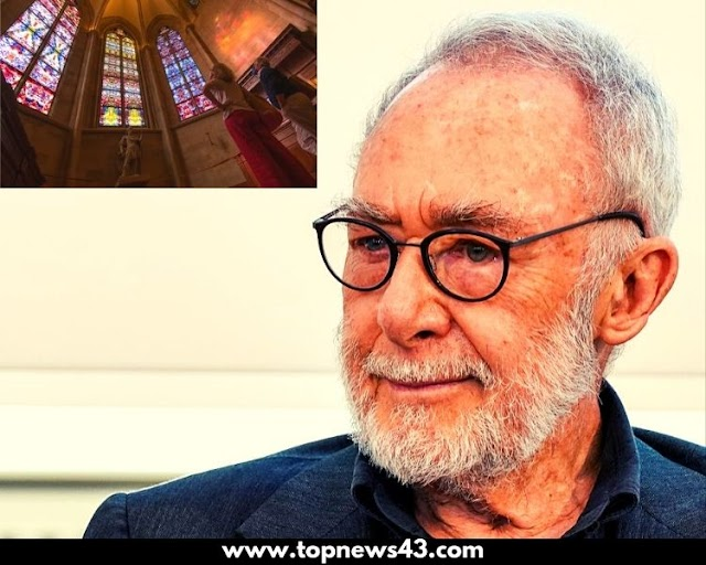Unveiled Church Window By German Visual Artist Gerhard Richter
