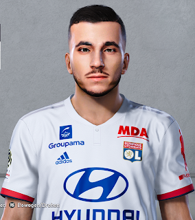 PES 2020 Faces Rayan Cherki by Milwalt