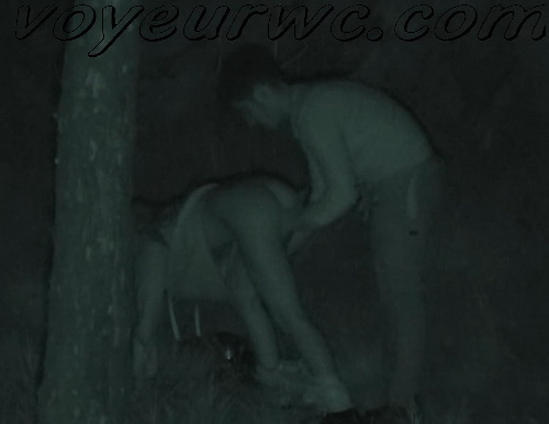Couple Having Sex in Public on Street Hidden Cam (Galician Night Sex 195-196)