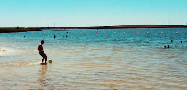 Zona balnear Praia de Cinco Reis