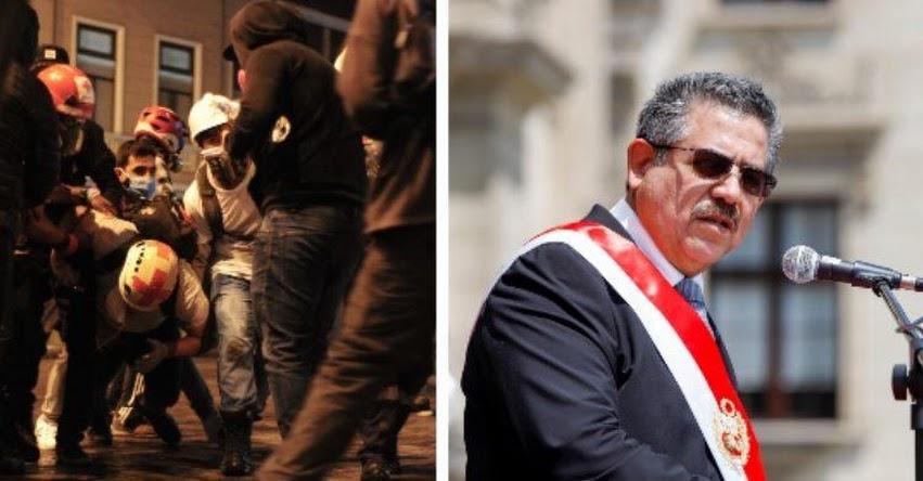 Manuel Merino habría ordenado preparar informe falso sobre las marchas a la Dirección Nacional de Inteligencia - DINI