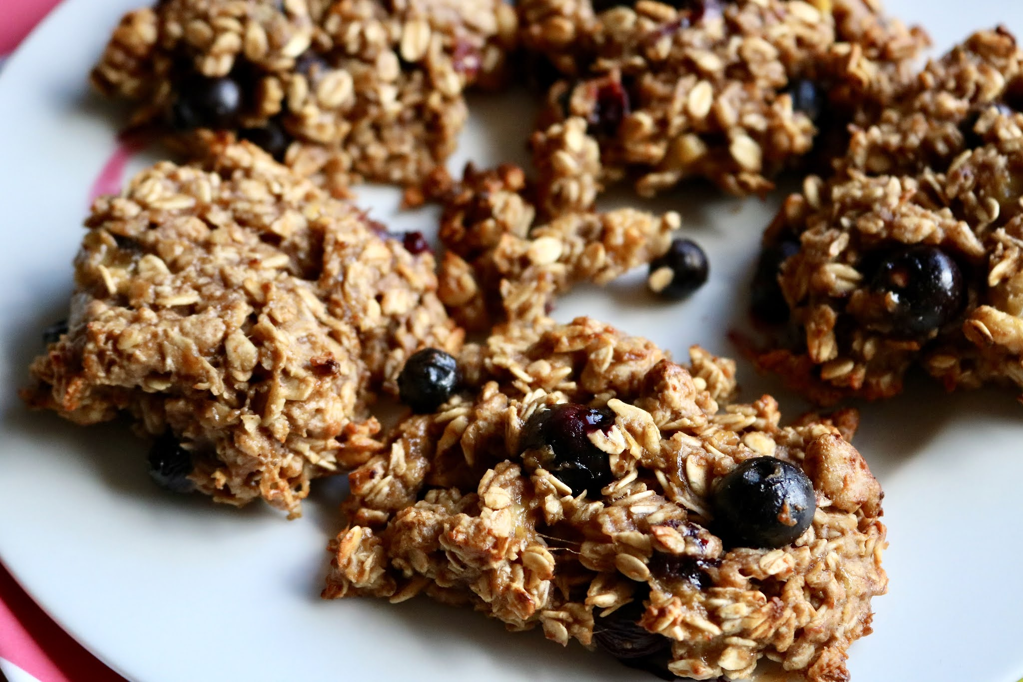 Blueberry Energy Cookies