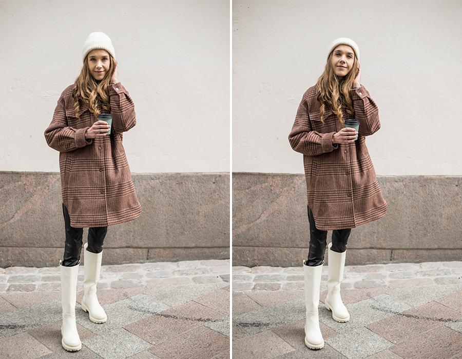 Rento mutta tyylikäs asukokonaisuus syksyyn // Casual but chic outfit for autumn