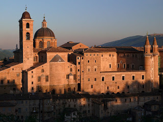 The Ducal Palace in Urbino, which is thought to have been completed by Donato Bramante