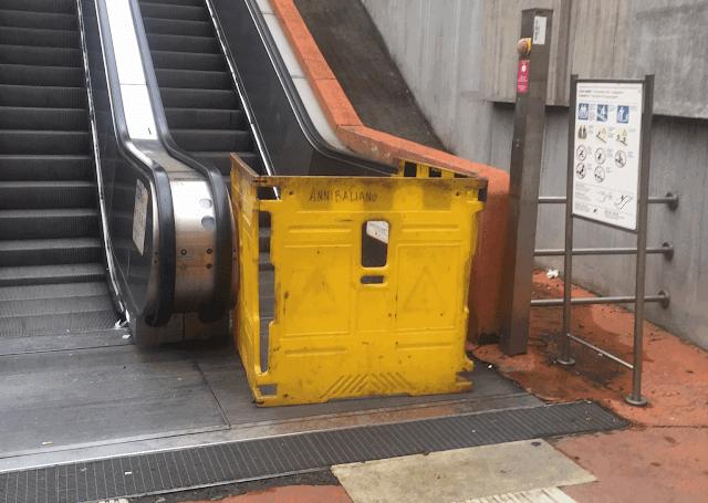 """Scale mobili, Atac: """"Ridotti del 62% gli impianti guasti nelle metro di Roma"""